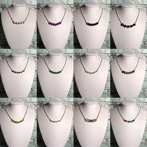 12 pcs. boho chiq handmade necklace wholesale
